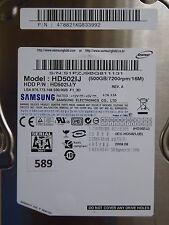 500gb Samsung hd502ij/y | p/n: 478821kq833992 | 2008.08 #589