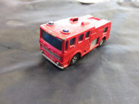 1969 VINTAGE MATCHBOX LESNEY SUPERFAST No 35 MERRYWEATHER FIRE ENGINE USED