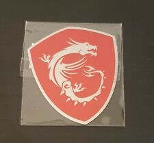 MSI Dragon Logo Adesivo