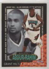 1996-97 NBA Hoops Grant Hill's All Team Shareef Abdur-Rahim #1 Rookie