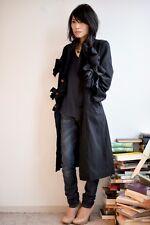 Comme des Garcons AW 2013 Ribbon Detail Polyester Coat XS NWOT