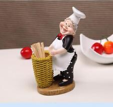 Kitchen Restaurant Chef Cook Figurine Statue Sculpture Dining Table Home Decor