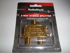 RADIO SHACK 15-1234  2-WAY HYBRID SPLITTER 75OHM 1501234