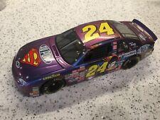JEFF GORDON #24 DUPONT - SUPERMAN - 1999 - MONTE CARLO - NASCAR - 1:18 DIECAST