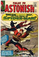 TALES TO ASTONISH #57 G, Spider-Man x-over, Giant Man, Marvel Comics 1964