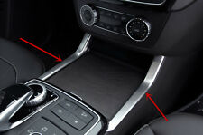 Center Console Water Cup Holder Cover Trim For Mercedes Benz GL X166 ML W166