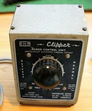 More details for vintage h&m. hammant and morgan clipper power control unit used as photos.