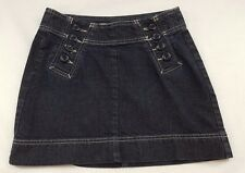 GAP JEANS Juniors Short Denim Jean Skirt SZ: 1 Sailor Button Front CUTE