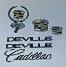 Vintage Cadillac Trims Accessories Mouldings Interior/Exterior Lot Silver Tones