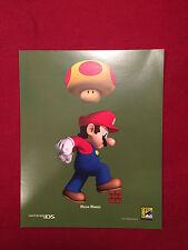 Comic Con 2006 4 of 4 Exclusive Super Mario Brothers Mega Mario Large Post Card
