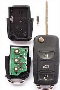 Auto Funk Schlüssel 433,9MHZ Fernbedienung 1J0959753DA V.W BORA GOLF PASSAT POLO