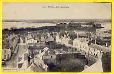 cpa 56 - PORT-LOUIS (Morbihan) Le VILLAGE et la CITADELLE Embouchure du BLAVET