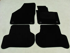 VW Golf MK6 Plus 2010-on Fully Tailored Deluxe Car Mats in Black