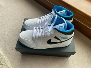 Air Jordan 1 Mid | Laser Blue | Size UK 10.5