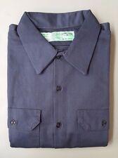 Red Kap SC70CH2 Men's Deluxe Heavyweight Cotton Shirt, Charcoal, XXL-RG