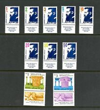 Israel 1986 #922-31  Herzl definitives   10v.  MNH  K686