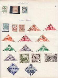 174) Interessanter Blätterposten Übersee, Asien, Naher Osten ! 35 Scans !