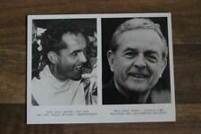PHIL HILL CARD featuring TWO PORTRAIT PHOTOS (1961 Formula 1 world champion)