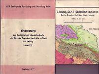 Erläuterung zur Geologischen Übersichtskarte Bez.Dresden/Chemnitz/Leipzig/1972+K