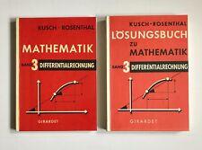 Kusch Mathematik ? Band 3 Differentialrechnung + Lösungsbuch - 8. Auflage