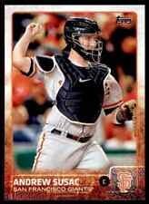 2015 Topps Series 1 Andrew Susac #232 San Francisco Giants