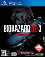 PS4 BIOHAZARD RE:3 Z Version from JAPAN F/S Japanese ver. via【DHL】