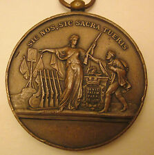 sic nos,sic sacra tueris ,2 inch French Medallion