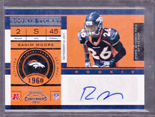 2011 Playoff Contenders #167 Rahim Moore Auto RC Rookie SP