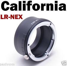 LR to NEX Leica R Lens to Sony E Mount Adapter NEX-3,NEX-5,NEX-7 NEX6 NEX-5R
