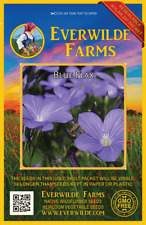 Everwilde Farms Mylar Seed Packet 1000 Silky Aster Wildflower Seeds