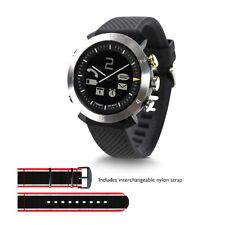 Cogito Classic Smart Watch avec interchangeables silicium et sangles en nylon