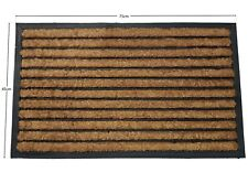 Natural Coir Rubber Back Non Slip Entrance Doormat Floor Indoor Outdoor Door Mat