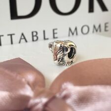 Genuine PANDORA Sterling Silver Lucky Elephant 791130 Moments Charm NEW in Pouch