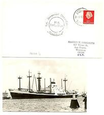 NEDERLAND-S.M.N, 1969 =M.S. NEDER EBRO = FROM CAPE TOWN  + DOC ...