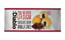 Diablo Sugar Free Chocolate Cream Vanilla Cake 150g/Triple Pack  (Pack of 8)