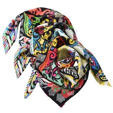 Scarf christian lacroix 100% Silk Made in Italy 70x70 CM Women jp072