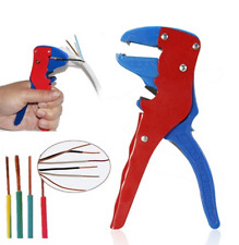 Practical Automatic Self Crimper Stripping Cutter Adjusting Cable Wire Stripper