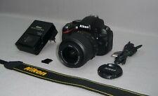 Nikon D5100 Digitalkamera 16.1 MP + Objektiv AF-S Nikkor DX 18-55mm 3.5-5.6G VR