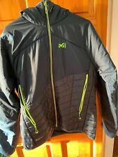 Millet Men's Elevation Airloft Jacket orion blue-acid green size L