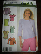New Simplicity 4541 Shirt/Tunic/Tops Women's Sewing Pattern, Size RR 14-20