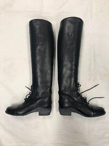 New Ariat Champion Field Boots - Size 6.5, Tall Height, Reg Calf - Black