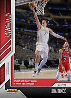 2021 PANINI INSTANT - LUKA DONCIC Card #77 NBA Career High 46 Points (PRE-SALE)