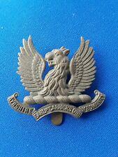 Ayrshire yeomanry Cap Badge British Army