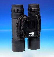 Revue 10x25 Fernglas Jumelles binoculars mit Tasche - (201227)