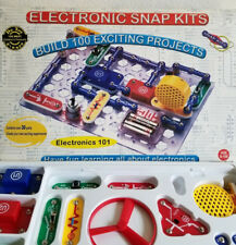 Electronic Snap Kits Electronics 101 100 Exciting Projects NIB