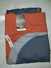 Victoria's Secret VSX Sport Knockout Tight Ginger Glaze Rust Gray Oasis S NWT