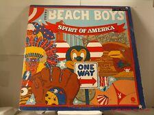 "THE BEACH BOYS -(DOUBLE LP)- SPIRIT OF AMERICA-WITH ""LITTLE HONDA""  CAPITOL-1975"