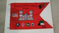 U.S. Army Engineer Souvenir Guidon 2012-2013 Operation Enduring Freedom