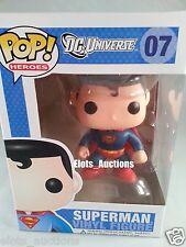 Superman 07 DC Comics Funko Pop! Heroes Vinyl Figure New NIB Dc Universe