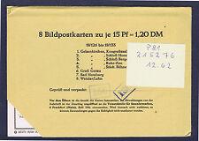 P 81   18. Auflage 8 Ganzsachen im Originalumschlag ungeöffnet !!!!!~⓰